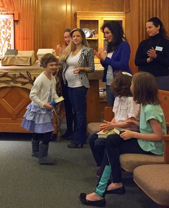 In the News April Siddur Party 3