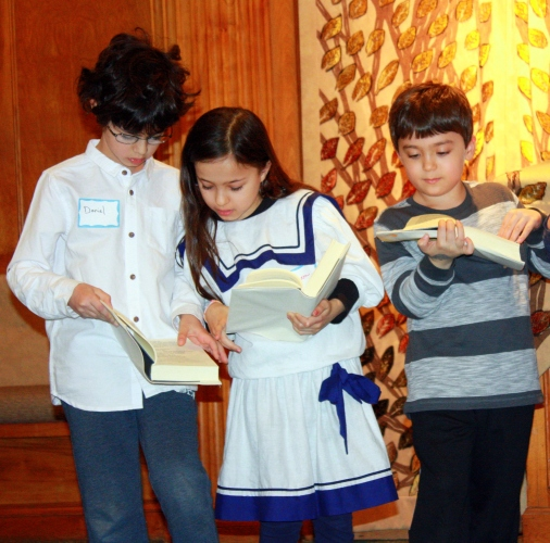 In the News April Siddur Party 5